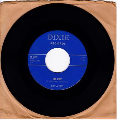 Pat & Dee - Gee Whiz / Don't Tease Me - Dixie 2006