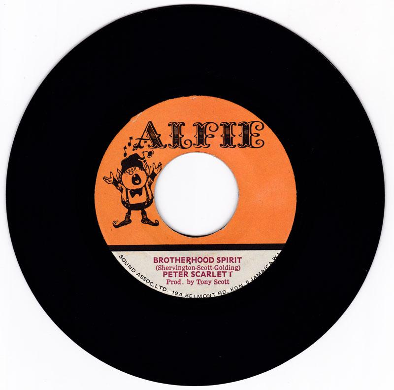 Peter Scarlett - Brotherhood Spirit / version - Alfie SA-45-5