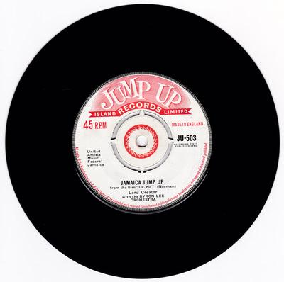 Lord Creator with Byron Lee Orchestra - Jamaica Jump Up / Laziest Man - Jump Up JU 503