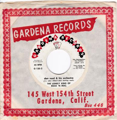 Don Reed Orchestra featuruing Lorelei - Nature boy / Ther Lonely King Of Rock N' Roll - Gardena G-102