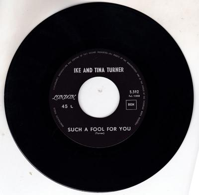 Ike and Tina Turner - Such A Fool For You / Oh Baby! (Things Ain't What They Used To Be) - Belgium London 5,592