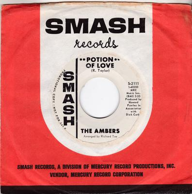 Ambers - Potion Of Love / Another Love - Smash S-2111
