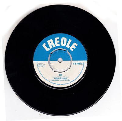 Augustus Pablo - 405 / Duck It Up - Creole CR 1004