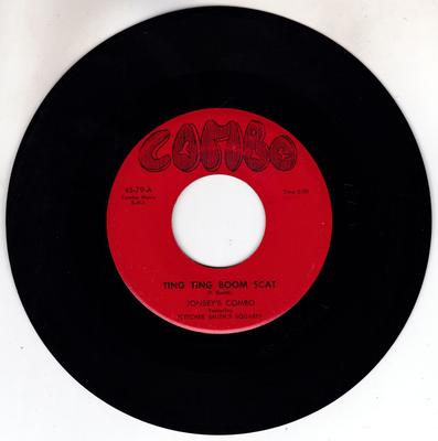 Jonsey's Combo featuring Fletcher Smith Squares - Ting Ting Boom Scat / A Rolling Heart Gathers No Love - Combo 45-79