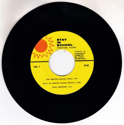 Brenda Holloway - Stay In school / various celebrity advisory comments - Stay In School 0162