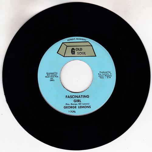 George Lemons - Fascinating Girl / same: instrumental - Gold Soul 1024