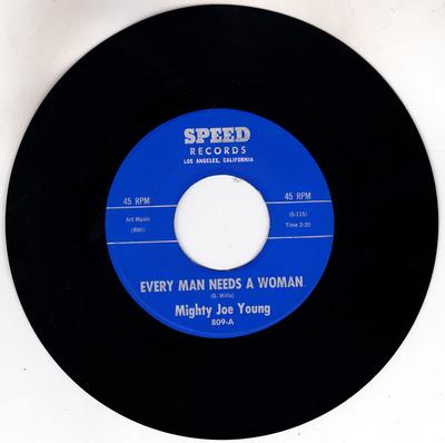 Mighty Joe Young - Every Man Needs A Woman / Uptown 809