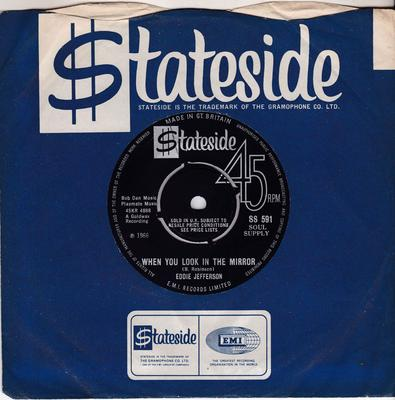 Eddie Jefferson - When You look In The Mirror / Some Other Time - Stateside SS 591