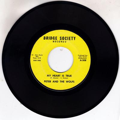 Peter and The Wolfs - My Heart Is True / Monkey Time - Bridge Society 308