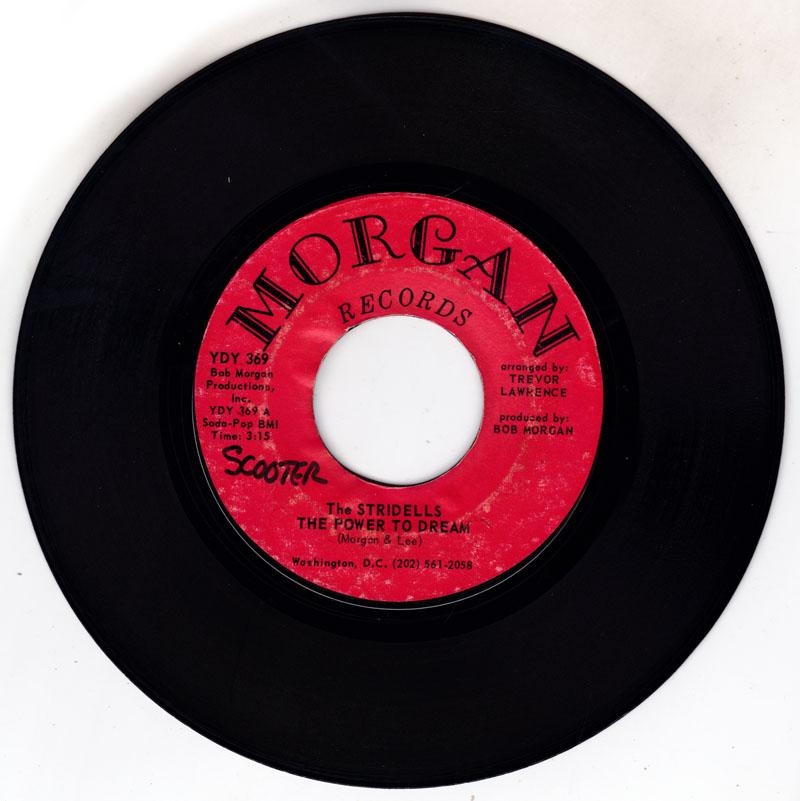 Stridells - The Power To Dream / Stick-Em Up Kind Of Lovin - Morgan YDY 369
