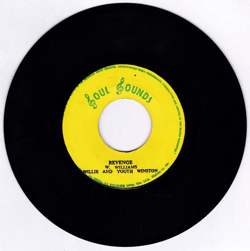 Willie and Youth Winston / Soul Sound All Stars - Revenge / Love Zone - Soul Sounds 8090