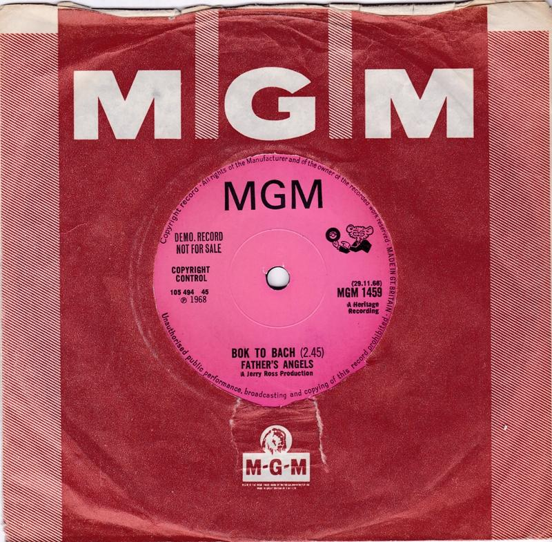 Father's Angels -  Bok To Bach / Don't Knock It - MGM 1459 DJ