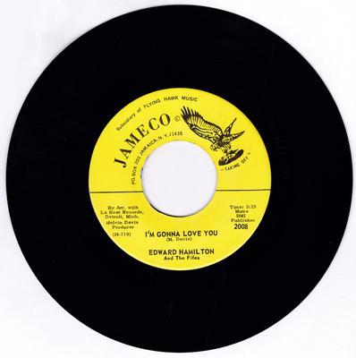 Edward Hamilton and The Fifes - I'm Gonna Love You / Call Me - Jameco 2008