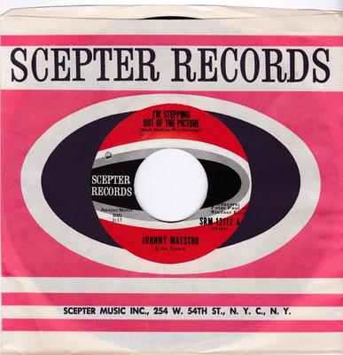 Johnny Maestro & The Crests - I'm Stepping Out Of The Picture / Afraid Of Love - Scepter SRM 12112