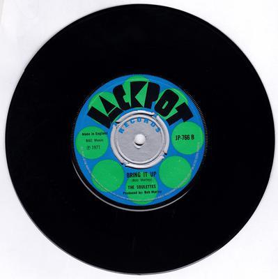 Soulettes - Bring It Up / My Desire - Jackpot JP-766