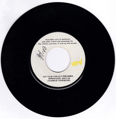 Eloise Laws - ( You're Mine ) Baby Doll / Stay With Me - Capitol test press 11119