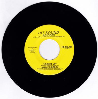 Sammy Ridgley - Locked Up / I'm Dreaming - Hit Sound HS-NO. 437