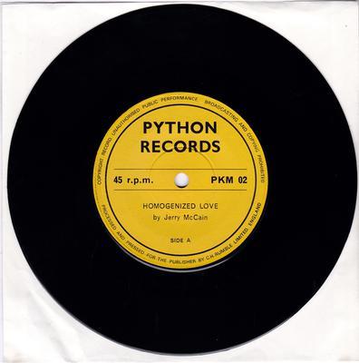 Jerry McCain - Homogenized Love / 728 Texas - Python PKM 02