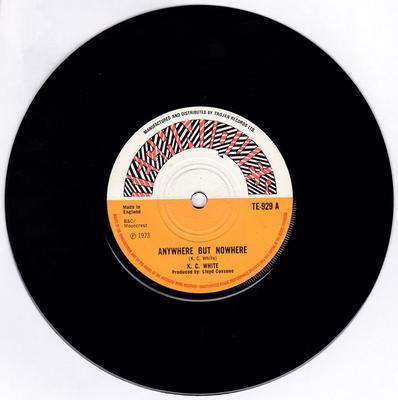 K. C. White / Lloyd Coxsone Six - Anywhere But Nowhere / Bush In Session - Techniques TE-929