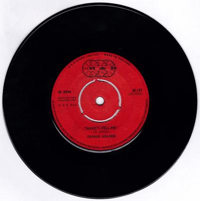 George Golden - Nancy-Tell-Me / Don't You Know - R & B JB 157