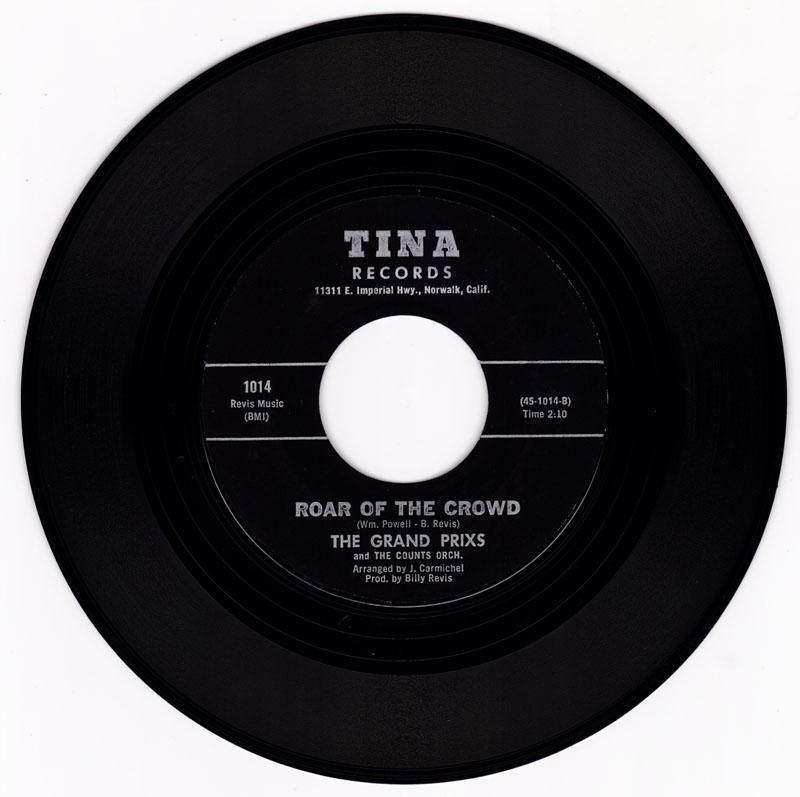 Grand Prixs - Roar Of The Crowd / Lost Love - Tina 1014