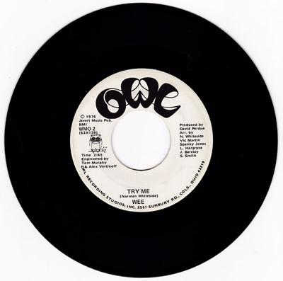 Wee - Try Me / Teach Me How - Owl WMO 2 DJ