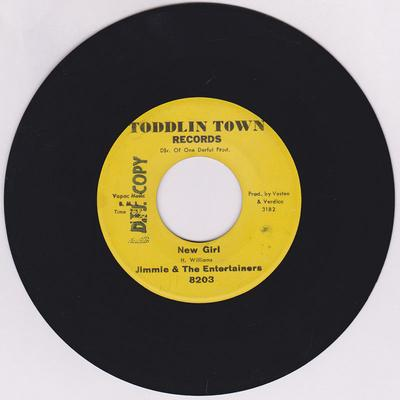 Jimmie & The Entertainers - New Girl / I'll Be Standing By - Toddlin Town 8203