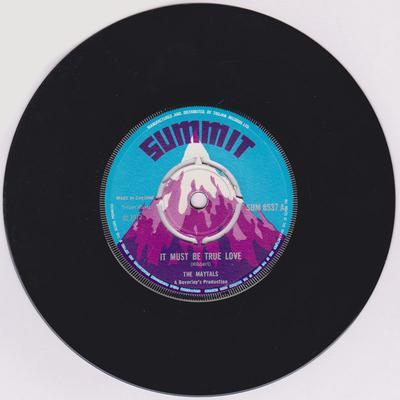 Maytals / Beverly All Stars - It Must Be True Love / True Love version - Summit SU 8537