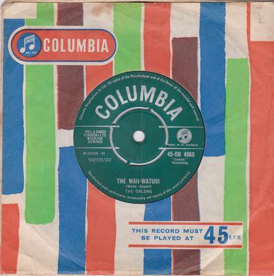 Orlons - Wah Watusi / Holiday Hill - Columbia DB 4865