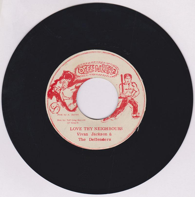 Vivan Jackson & The Deffenders - Love Thy Neighbours / version -  Defenders AB RRS 4584