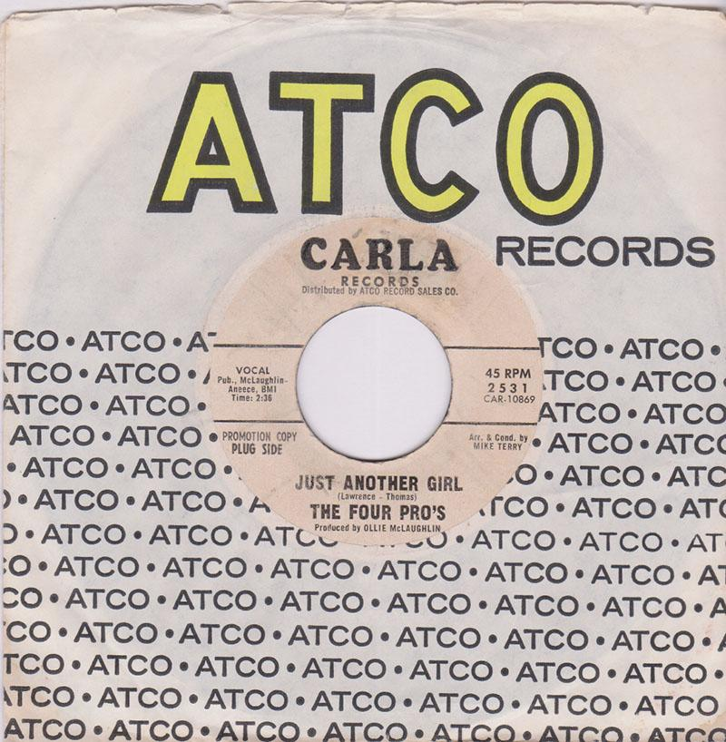 Four Pro's - Just Another Girl / There Must Be A Reason - Carla 2531 DJ