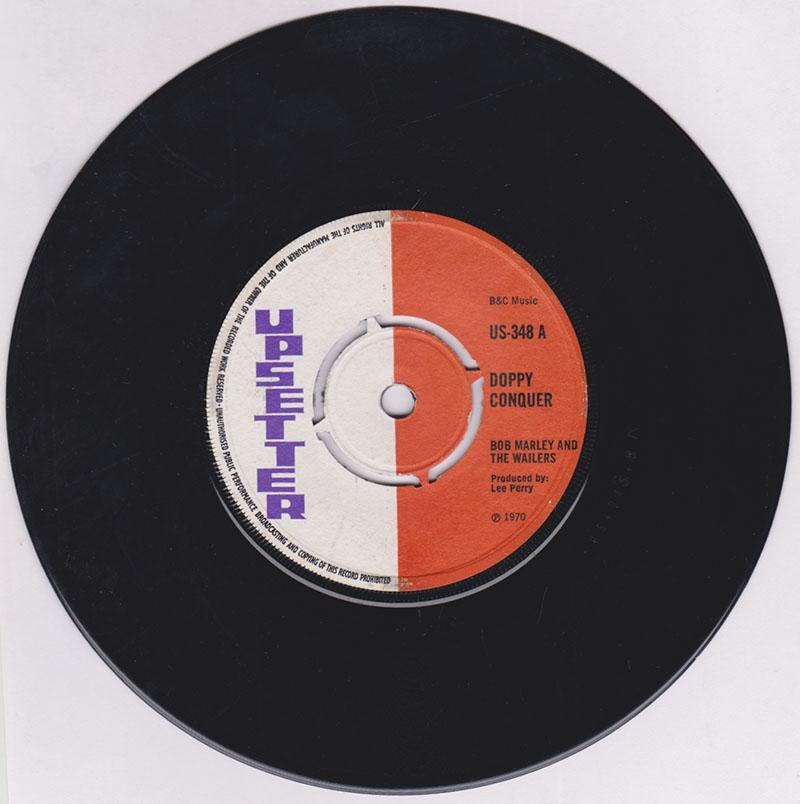 Dave Barker & The Upsetters (credited as Bob Marley and The Wailers)  / Upsetters  - Doppy Conquer but plays