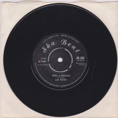 Lee Perry - Trail & Crosses / John Tom - Ska Beat JB 203
