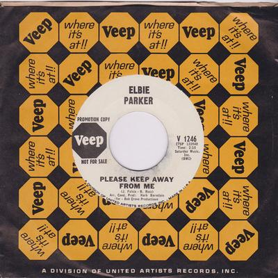 Elbie Parker - Please Keep Away From Me / Unlucky Lucky Guy - Veep V 1246 DJ