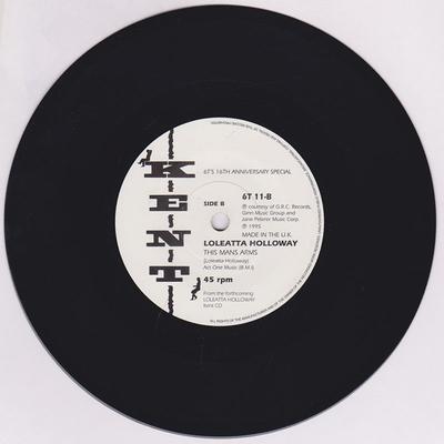 John Edwards / Loletta Holloway - Ain't That Good Enough / This Man's Arms - Kent 6T 11