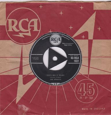 Sprouts - Teen Billy Baby / Goodbye, She's Gone - RCA 1031 tri