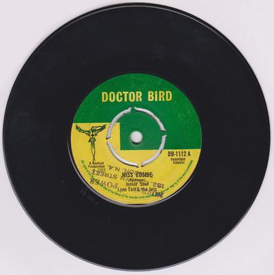 Junior Soul / Lynn Tait & The Jets - Miss Cushie / Dr. Paul - Doctor Bird DB 1112