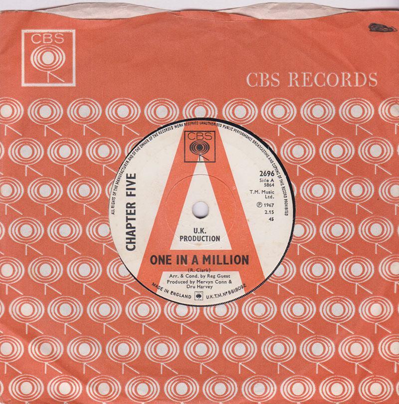 Chapter Five - One In a Million / Hey Hey - CBS 2696 DJ
