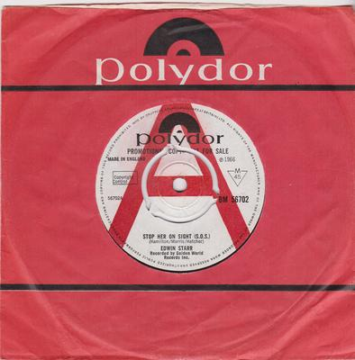 Edwin Starr - Stop Her On Sight (S.O.S.) / I Have Faith In You - Polydor BM 56702 DJ