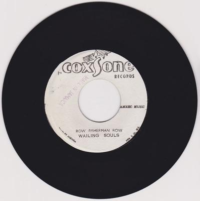 Wailing Souls / Brentford All Stars - Row Fisherman Row /  Moon Ride - Coxsone no number