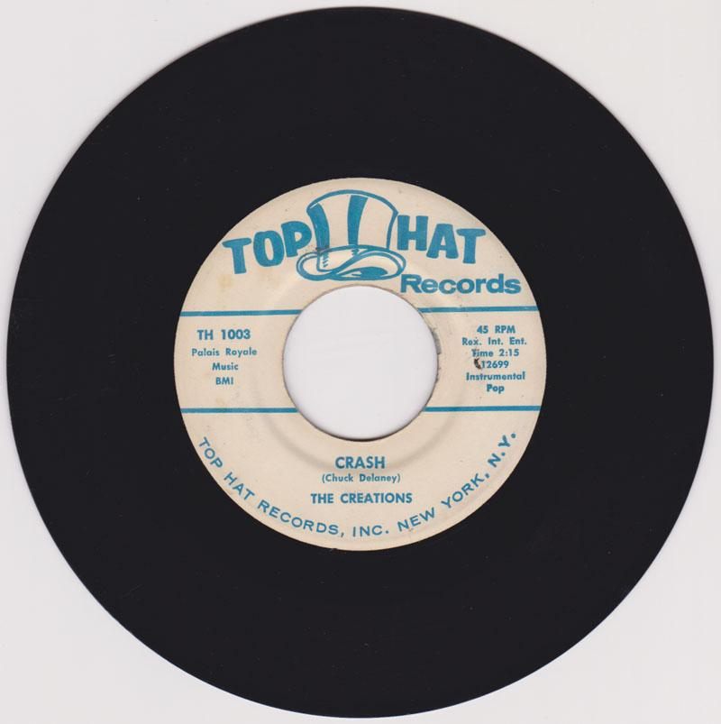Creations / Danny Gomes with the Creations - Crash / Chickie Darlin - Top Hat 12699 / 12700