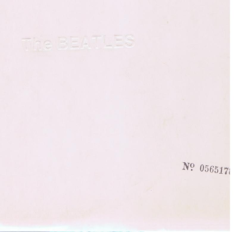 Beatles - The Beatles -  White Album / no. 0565178 - Apple PCS 7067 / 7068