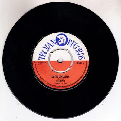 Melodians - Sweet Sensation / It's My Delight - Trojan TR 695