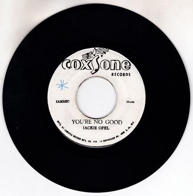 Jackie Opel / Roy Richards - You're No Good / Green Collie - Coxsone FC 2985