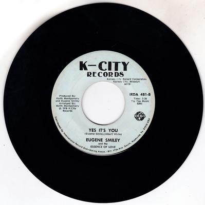 Eugene Smiley - Yes It's You / We're Lover's Day And Night - K-City 481
