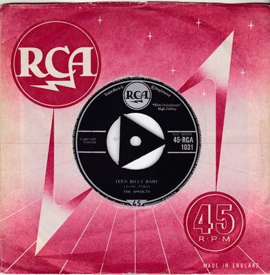 Sprouts - Teen Billy Baby / Goodbye, She's Gone - RCA 1031