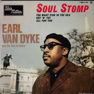 Earl Van Dyke - Soul Stomp / 4 track 1965 French EP - Tamla Motown TMEF 501