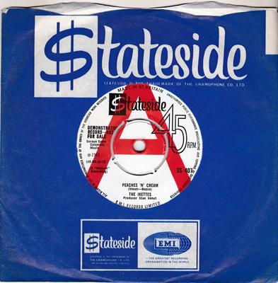 Ikettes - Peaches N' Cream / The Biggest Players - Stateside SS 407 DJ