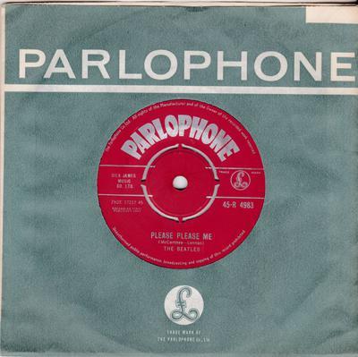 Beatles - Please Please Me / Ask Me Why - Parlophone R 4983