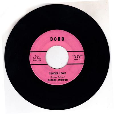 George Jackson - Tender Love / Rufus Come And Get Your Dog - Doro 888